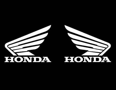 Honda Wings (Pair) Sticker