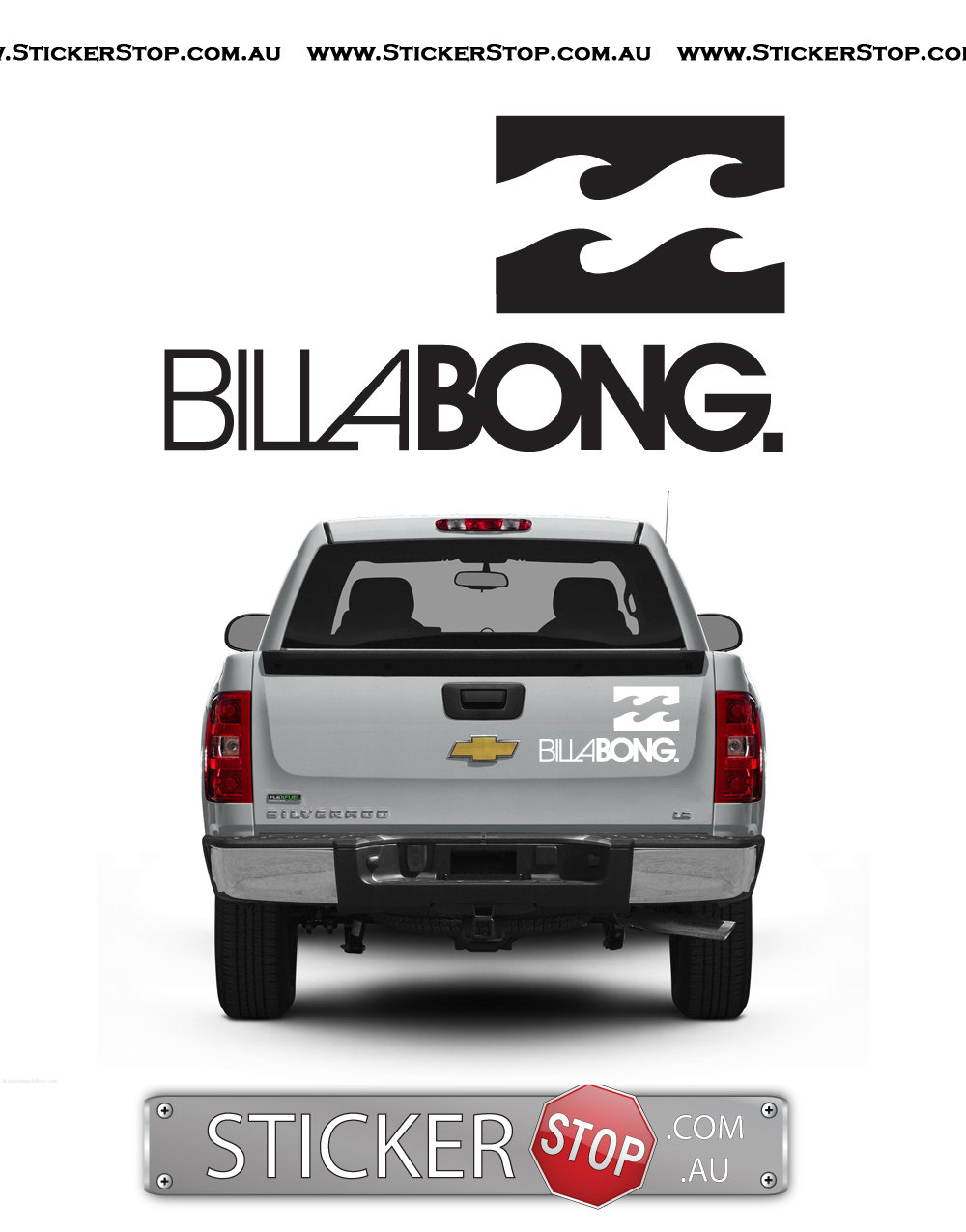 Billabong Sticker (Current)