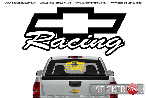 Chevy Racing Sticker
