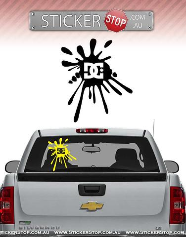 DC Shoes (Splat) Sticker