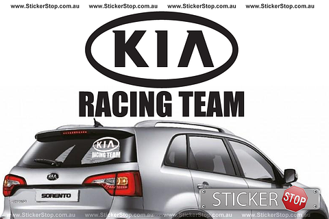 Kia Racing Team Sticker
