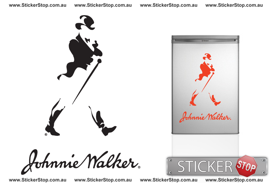 Johnnie Walker Sticker