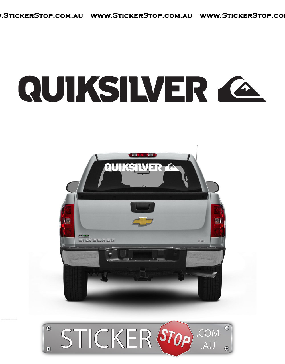 Quiksilver (Long) Sticker