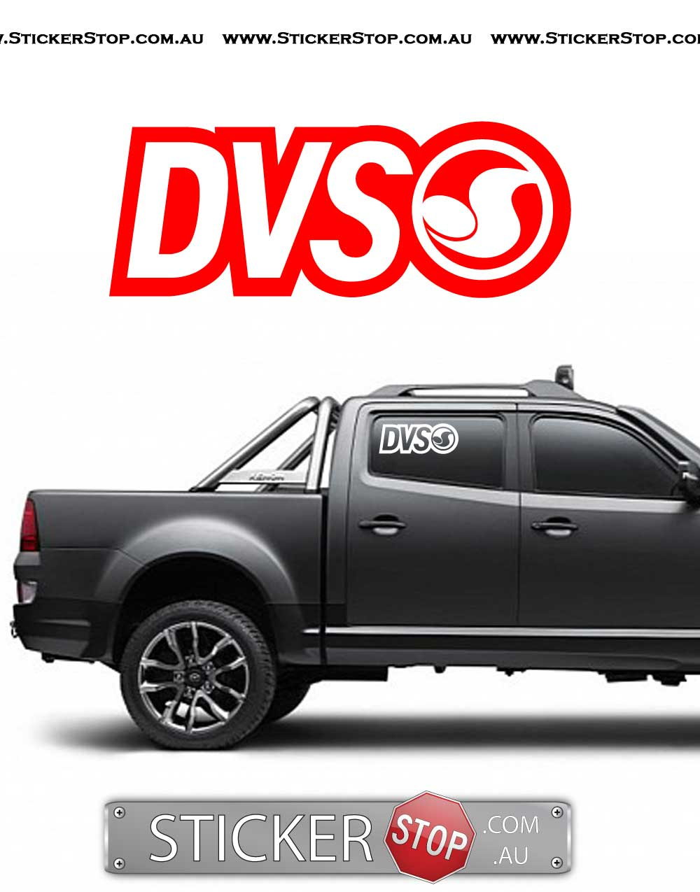 DVS Shoes Vinyl Sticker Decal