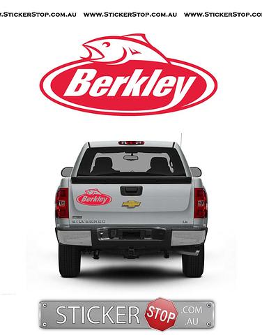 Berkley Sticker