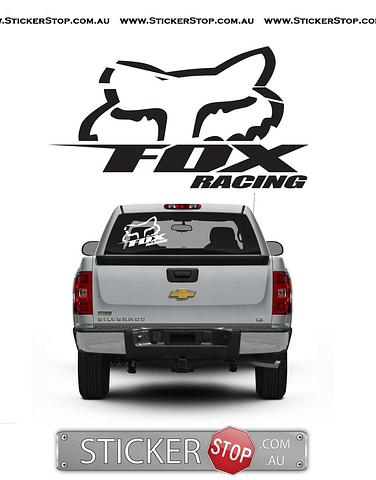 Fox Racing Sticker (B)