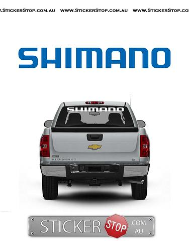 Shimano Sticker/Decal