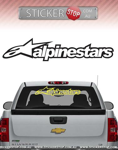 Alpinestars Sticker