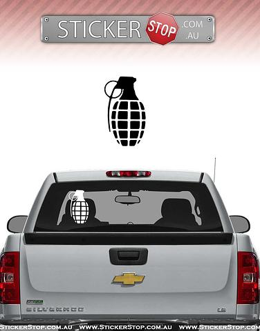 Grenade Gloves Sticker