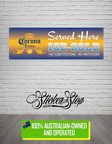 Corona Extra Banner for Mancave, Garage, Shed or Workshop