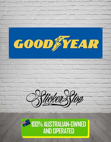 Goodyear Banner for Mancave, Garage, Shed or Workshop