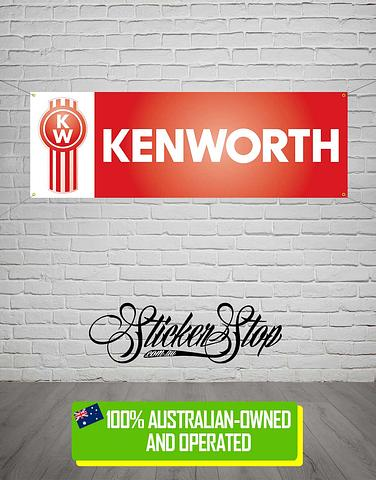 Kenworth Truck Banner for Mancave, Garage, Shed or Workshop