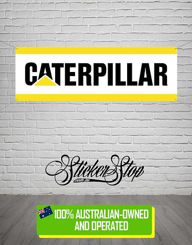 Caterpillar CAT Banner for Mancave, Garage, Shed or Workshop